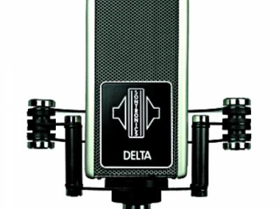 DELTA 針對吉他收音有附幻象電源的鋁帶麥克風