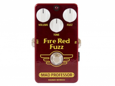 Fire Red Fuzz ( Hand Wired )