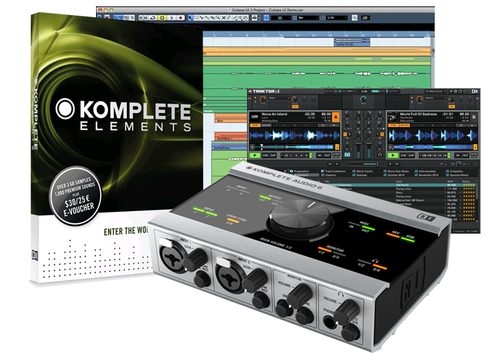 KOMPLETE AUDIO 6(4)