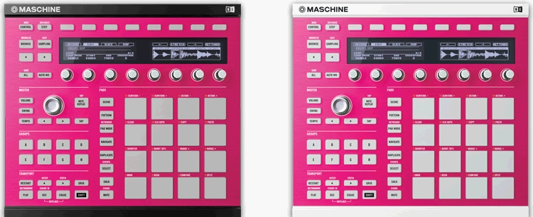 MASCHINE MK2 專用活動面板. (4)