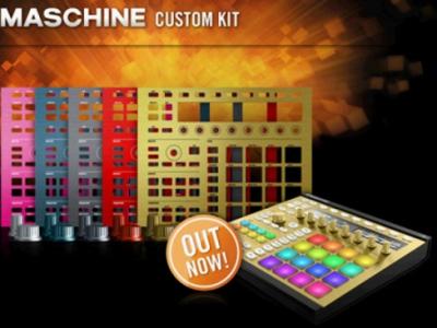 MASCHINE MK2 專用活動面板.