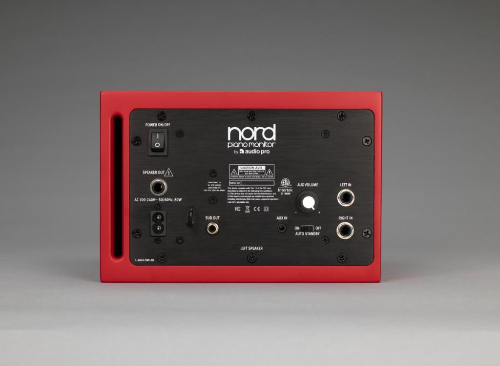 NPM - Back Active Speaker