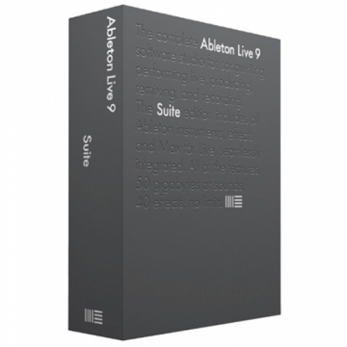 [New!] Ableton Live 9 Suite 標準版(Retail Version )