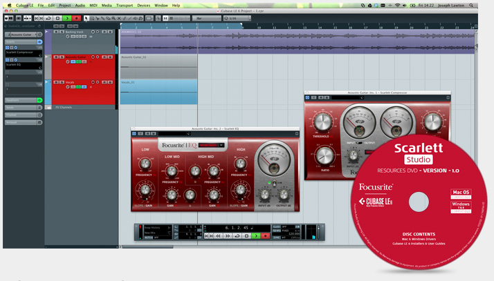 [New!] Focusrite Scarlett Studio(4)