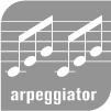 Nord Stage 2-Arpeggiator  琶音器