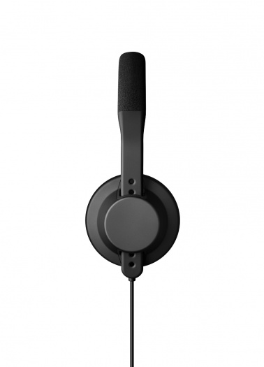 TMA-1「X」 DJ Headphone Black wone button mic(3)