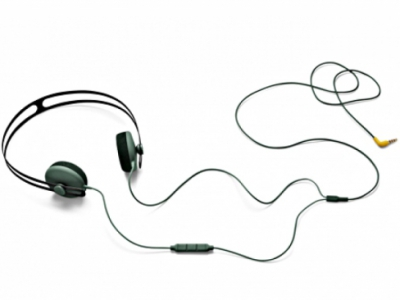 Tracks Headphone w_mic Green
