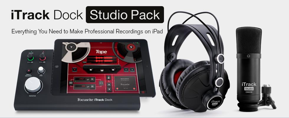 iTrack Dock Studio Pack